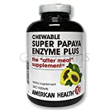 American Health Super Papaya Enzyme Plus, Sugarless - 360 Tabs
