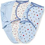 Summer Infant SwaddleMe Adjustable Infant Wrap, Sports, 3 Count