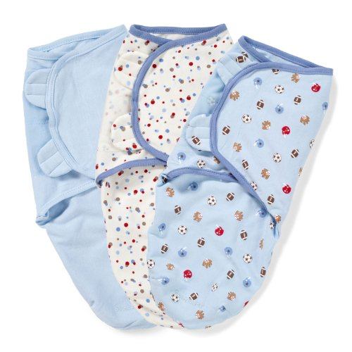 Check Out This Summer Infant SwaddleMe 3-Pack, Sports