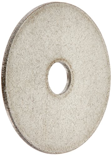 The Hillman Group 830604 Stainless Steel 3/16 x 1-Inch Fender Washer, 100-Pack (Stainless Washers compare prices)
