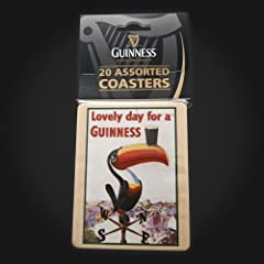 Guinness Assorted Coasters 20PK