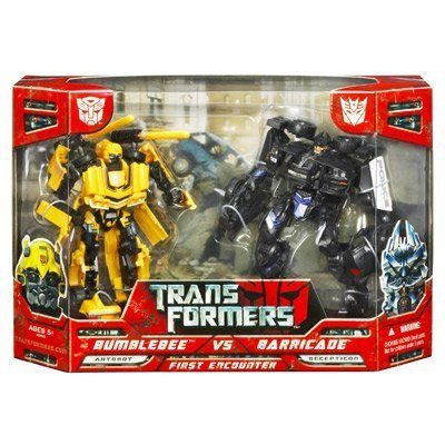Transformers Movie Deluxe Bumblebee Vs Barricade Combo Set by Hasbro