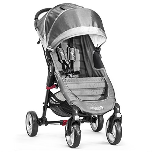 Baby-Jogger-City-Mini-4-Silla-de-paseo-color-gris