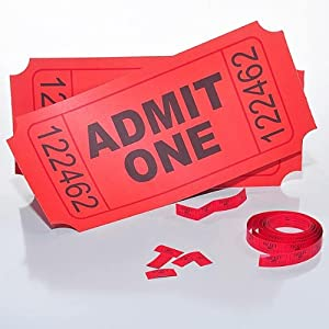 Giant Pair of Tickets
