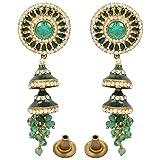 Tohfa Planet Multi-Colour Dangle And Drop Earrings For Women