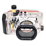 Meikon 40M Waterproof Underwater Housing Camera Case for Canon S100 as Canon WP-DC43