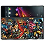 Sony Xperia Z Heroes Marvel Universe Case/Cover + Screen Protector