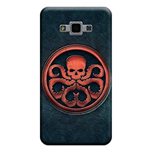 Desicase Samsung Grand Max / Grand 3 Skelton Art 3D Matte Finishing Printed Designer Hard Back Case Cover (Multicolor)