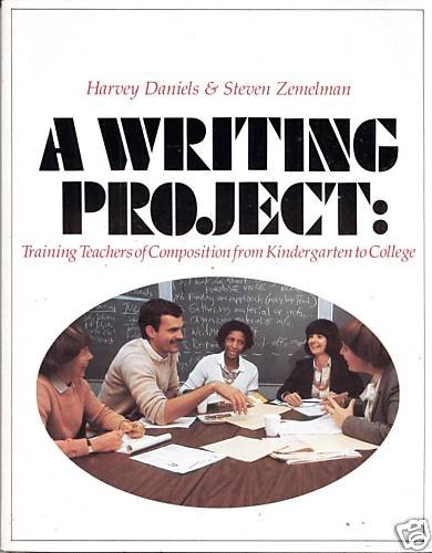 a writing projecttraining teachers of composition from kindergarten to college