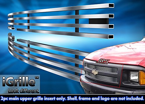 Stainless Steel eGrille Billet Grille Grill For 1994-1997 Chevy S-10 S10 Pickup Insert (S 10 Grill compare prices)