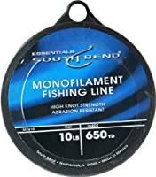 South Bend Mono Fishing Line 10-Pounds/650Yds (Clear) from South Bend