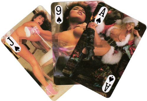 FEMALE NUDE PLAYING CARDS(EA)