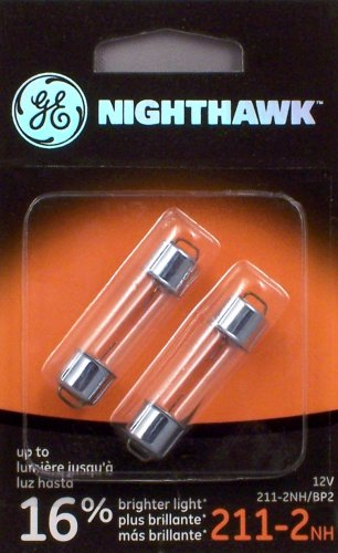 GE NIGHTHAWK 211-2 Replacement Bulbs, (2 Pack)
