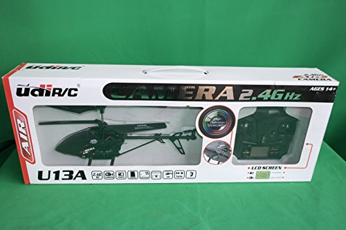 New with Video Camera! UDI U13A 3 Channel 2.4GHz Metal RC Helicopter w/ Video Camera (Video Chopper compare prices)