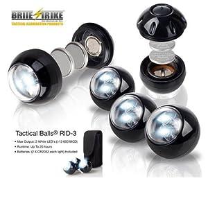 Brite Strike RID-3 Tactical Balls, 3-Pack