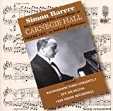 Simon Barere Carnegie Hall Recordings, Vol. 5; An undated performance