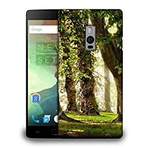 Snoogg Blossom Forest Printed Protective Phone Back Case Cover Fpr OnePlus One / 1+1
