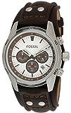 Fossil Herren-Armbanduhr Sport Chronograph Leder braun CH2565