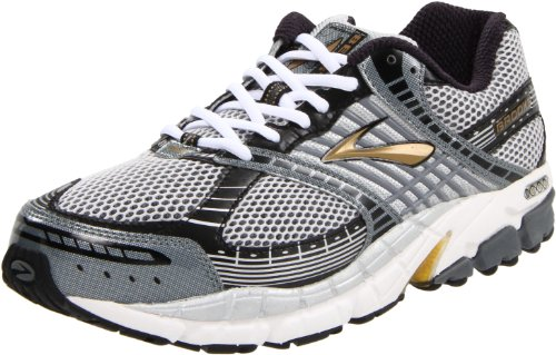 Brooks Men's Beast Gold/Black/Grey/Silver Trainer 1100792E799 14 UK 2E