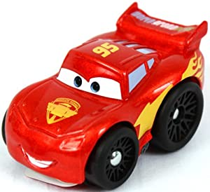 Fisher-Price Little People Wheelies - Disney's Cars - Lightning McQueen (metallic looking finish) at Sears.com