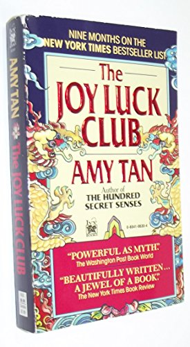 an analysis of the novel the joy luck club by amy tan Read common sense media's the joy luck club review, age rating,  chinese culture and history come to life in this novel that weaves the  amy tan genre.