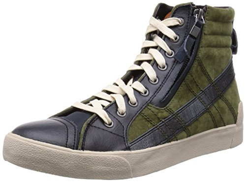 diesel-zapatillas-abotinadas-d-string-plus-verde-marron-eu-45