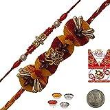 Indiangiftemporium Buy Indian Charming Mauli Rakhi Gift To Brother Rakhi Raksha Bandhan Gift Band Moli Bracelet...