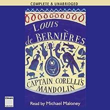 Captain Corelli's Mandolin (       UNABRIDGED) by Louis de Bernieres Narrated by Michael Maloney
