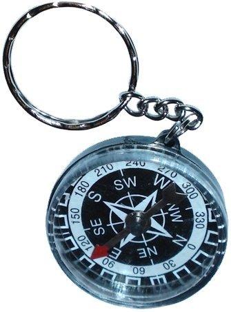 12 Stk. Kompass an Schlüsselkette