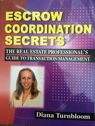 Escrow Coordination Secrets PDF