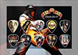 Guns N Roses Guitar Pick Display (Classic Edition)