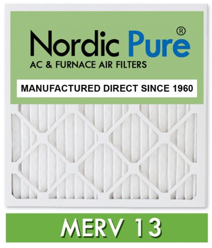 16x25x5 lennox x6670 replacement merv 13 pleated furnace air filter box of 4 manufactured by - Mobili scandinavi on line ...