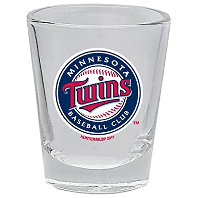 Minnesota Twins 2 Oz Shot Glass