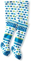 Jefferies Socks Baby-Girls Newborn Party Tight, Blueberry, 6-18 Months