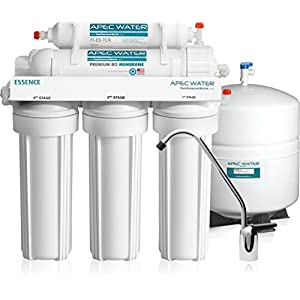 APEC Water 50 GPD Essence Reverse Osmosis Drinking Water Filter System (ROES-50)