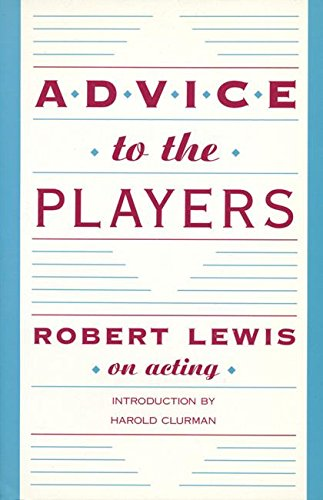 Advice to the Players, Lewis, Robert