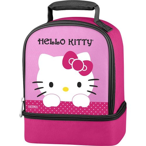 Thermos Hello Kitty Dual Compartment Lunch Kit front-919548