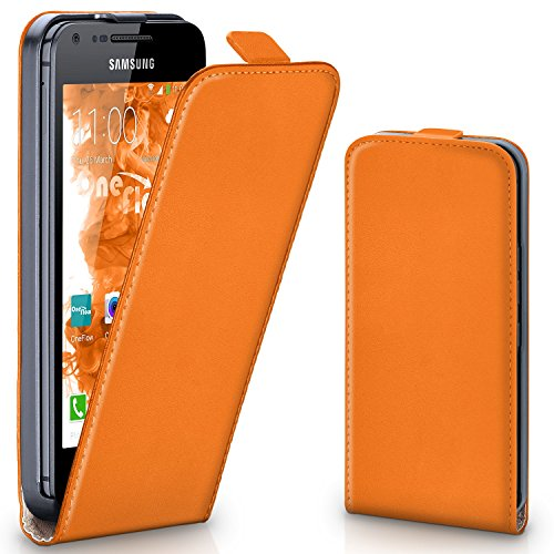 OneFlow PREMIUM - Flip-Case - per Samsung Galaxy S Advance - CANYON-ORANGE