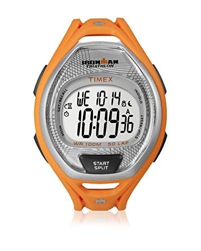 Timex Orologio al Quarzo Man Irm Sleek 50-Lap Res Fs Arancione 37 mm
