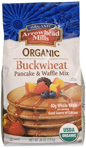 Arrowhead Mills Pancake & Waffle Mix, Buckwheat, 26 oz (Grain Mill Back To Basics compare prices)