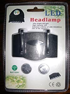 LED Headlamp - Headlight (2 Lights) - Adjustable - You get 2 of them
