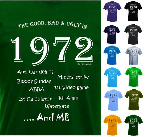 The Good, Bad & Ugly in 1972 - Quality T shirt