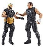 WWE Wrestling Battle Pack Seth Rollins & Dean Ambrose (Includes United States Championship Belt)