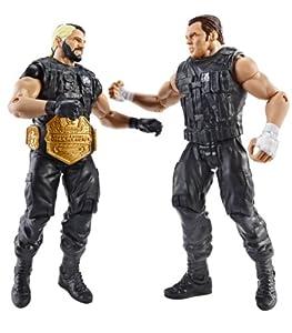 WWE Battle Pack Rollins vs. Dean Ambrose Action Figure, 2-Pack