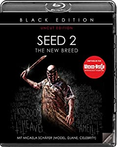 Seed 2 - The New Breed - Uncut/Black Edition [Blu-ray]