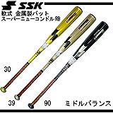 エスエスケイ(エスエスケイ) 軟式用金属製バット スーパーニューコンドルRB 83-680 SCN0041490-83 (Men's)