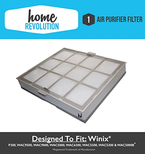 Winix Size 21 Home Revolution Brand Replacement Air Purifier Filter & Cassette; Fits P300, WAC9500, WAC9000, WAC5000, WAC6300, WAC5500, WAC5300 & WAC5000B