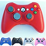 PomeMall Xbox 360 2.4G Wireless Controller (Red)