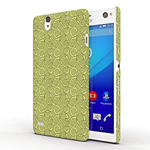 Koveru Back Cover Case for SONY XPERIA C4 - Green Pattern