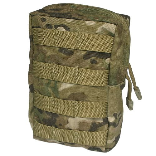 Flyye Tactical Vertical Accessories Pouch Utility Pocket MOLLE Airsoft MultiCam